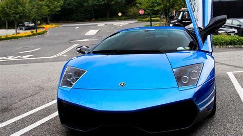 Car Wallpaper Blue by Blue Lamborghini Car Wallpaper Hd Car Wallpapers Id 2789