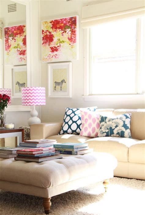 decor room chic and colorful living room decor for