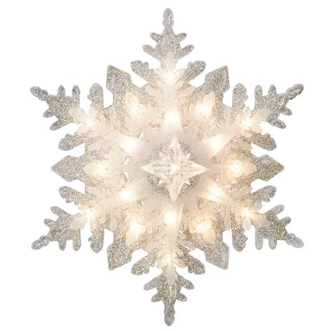 tree topper canada ge silver snowflake tree topper lowe s canada