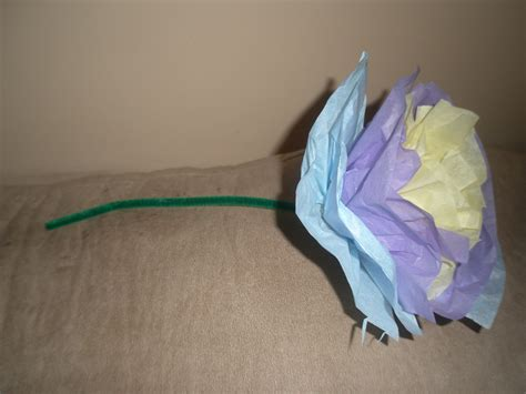 arts and crafts with tissue paper how to make a tissue paper flower arts crafts projects for