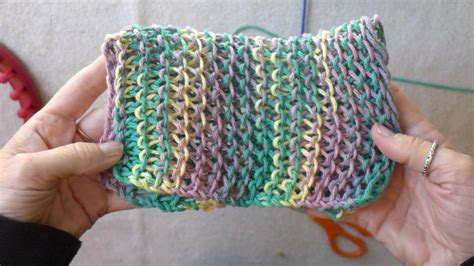 different stitches for loom knitting learn the basic stitches for loom knitting dish cloths