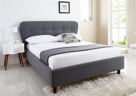 upholstered bed frame and headboard oslo upholstered bed frame upholstered beds beds
