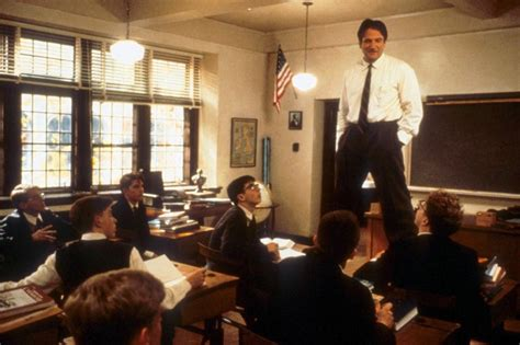 dead poets society standing on desks lessons learned from tom schulman about his oscar winning