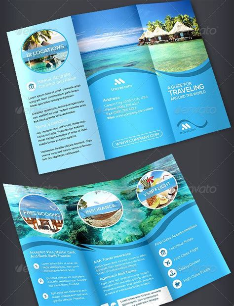 how to a travel brochure for brickhost
