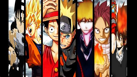 anime heroes feature anime characters wallpaper in 1366x768