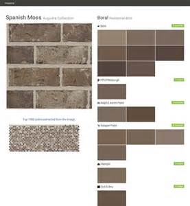 behr paint color new brick 17 best images about new home exterior on