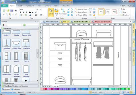 free cabinet design software cabinet design software edraw