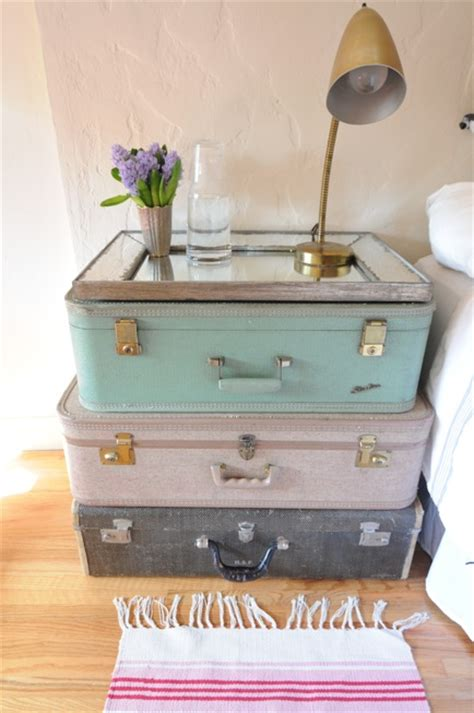 shabby chic suitcase decorating with vintage shabby chic suitcases i