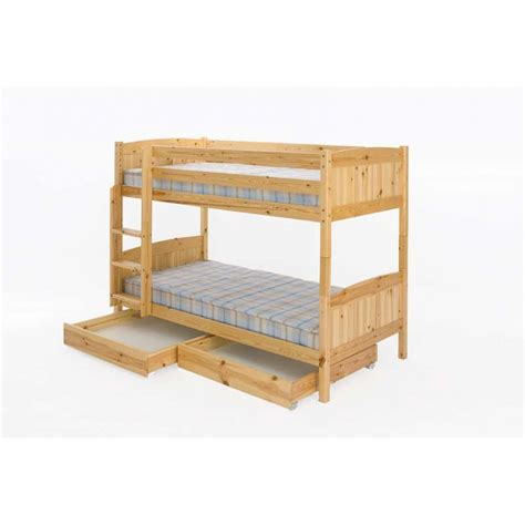 pine bunk beds with storage robin solid pine bunk bed with storage trundles