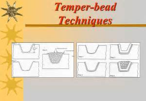 temper bead welding this presentation is provided to you by ppt