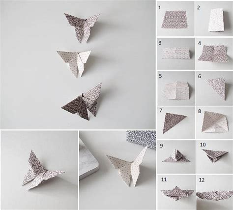 how to fold butterfly origami diy origami fold butterfly usefuldiy