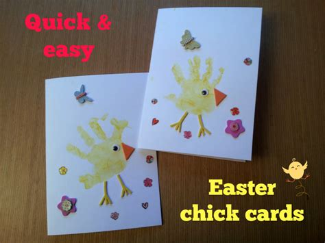 easy easter cards for toddlers to make easy easter cards mummy s to do list