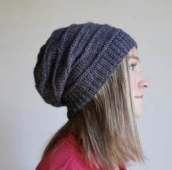 how to knit a slouchy hat free pattern friday favorite knit slouchy hat by