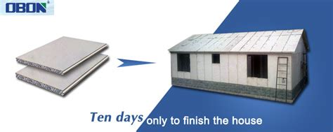 Structural Insulated Panel Home Kits obon lightweight insulated eps cement sandwich panel