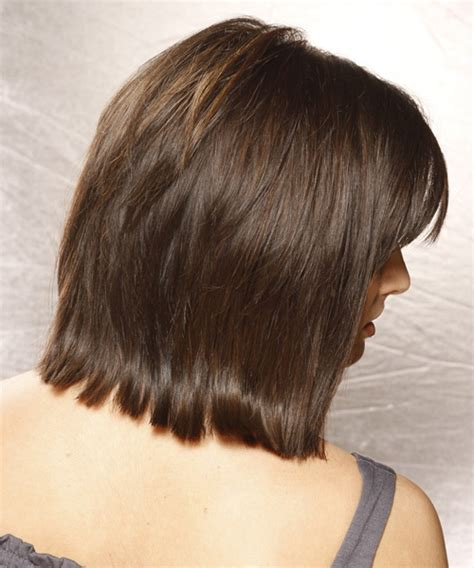views of back of medium hairstyles medium length layered bob hairstyles back view