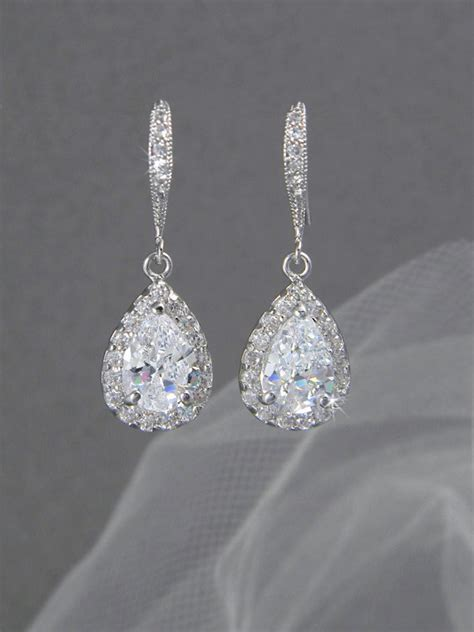 how to make wedding jewelry bridal earrings wedding jewelry by crystalavenues