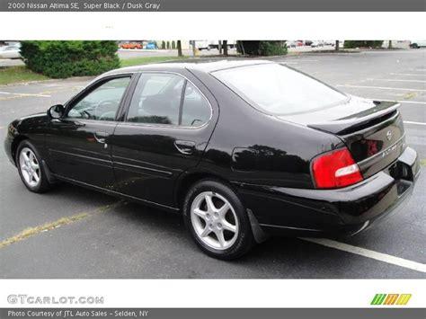 2000 Nissan Altima by 2000 Nissan Altima Se In Black Photo No 17064759