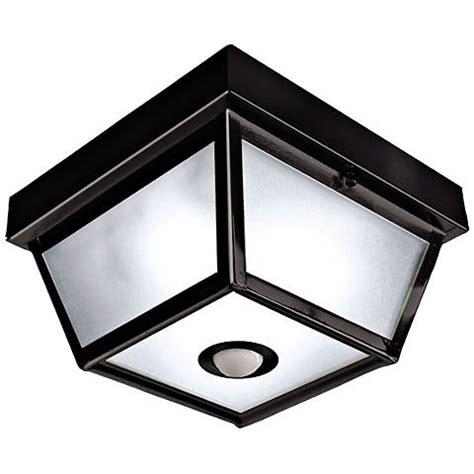 porch ceiling lights with motion sensor benson black 9 1 2 quot wide motion sensor outdoor ceiling