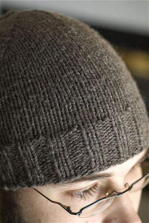 free knitting pattern mens beanie regular beanie yarn weight aran 10 ply 8 wpi