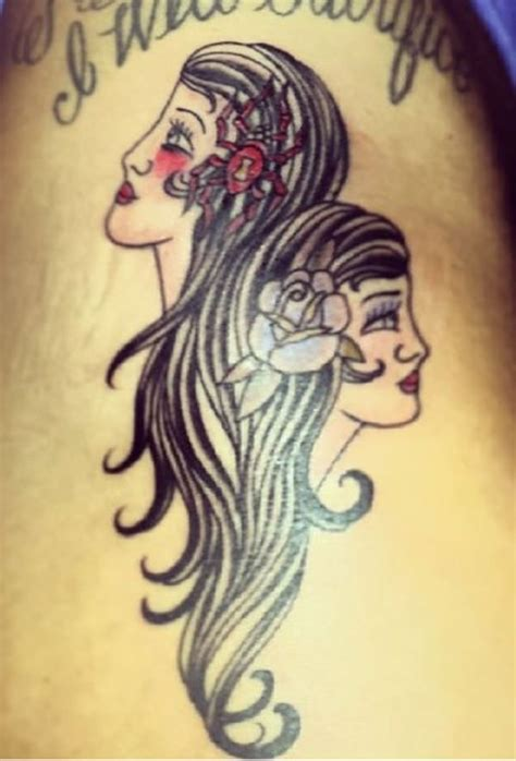 45 of the most extraordinary gemini tattoos to compliment