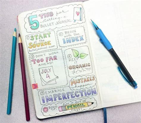 bullet journal tips and tricks bullet journal tips