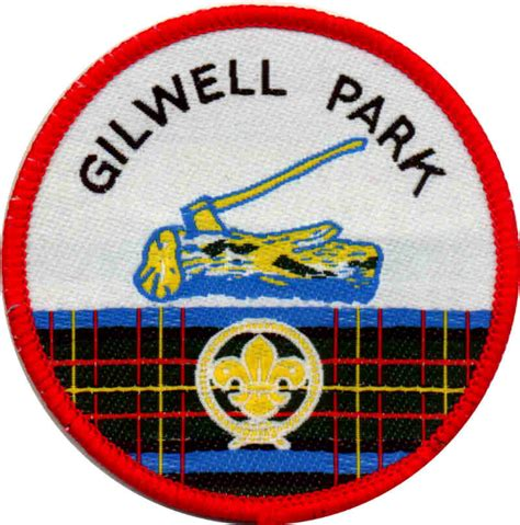 wood badge from gilwell the scouting pages