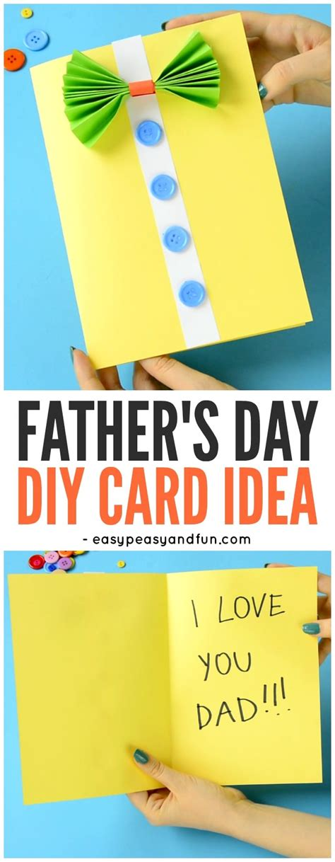 cards to make for s day bow tie shirt s day card idea easy peasy and