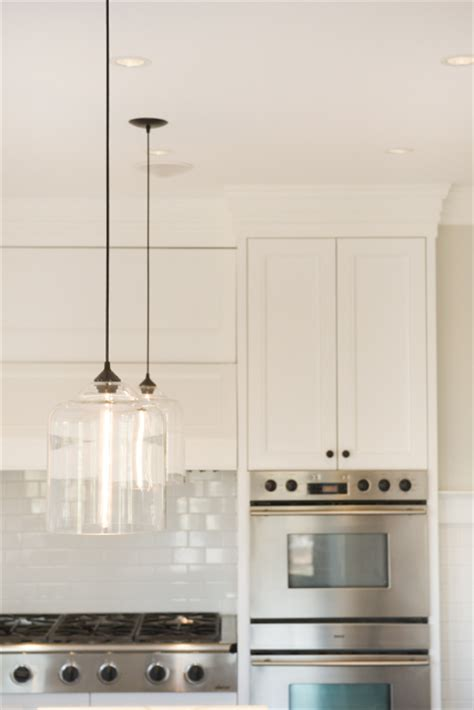 glass kitchen lighting a lovely melbourne kitchen with a striking iron glass