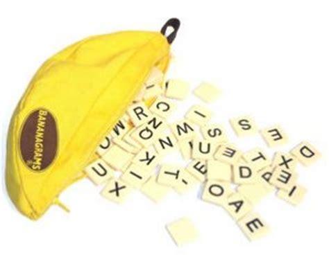 bananas like scrabble bananagram jigsaws board card play the