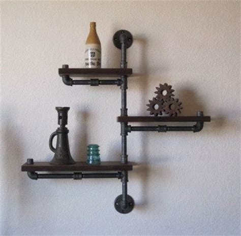 galvanized pipe bookshelves 25 best ideas about galvanized pipe shelves on