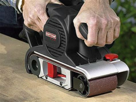 best type of sander for woodworking how to use a belt sander woodworking tools