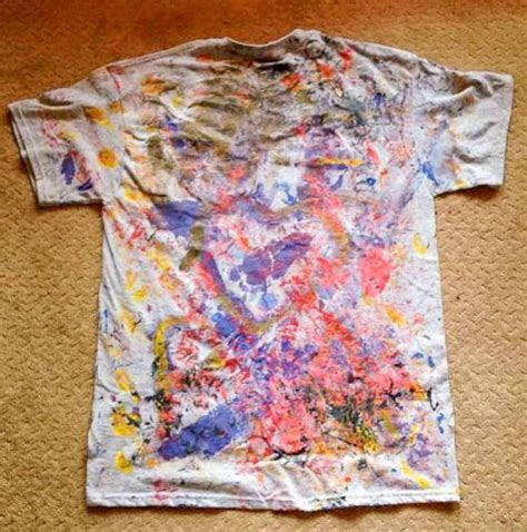 acrylic paint on t shirts painted t shirts toddler style on as we grow