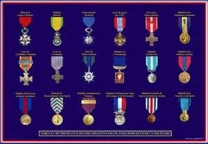 les m 233 dailles fran 231 aises d 233 corations militaires