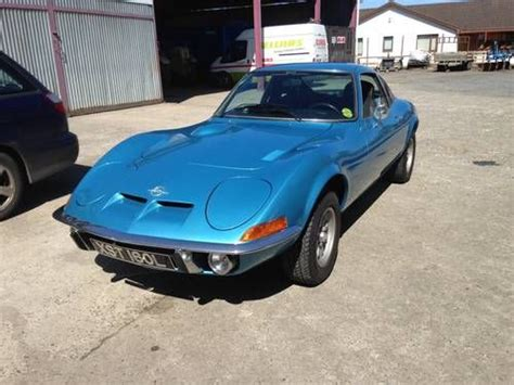 1972 Opel Gt For Sale by 1972 Opel Gt 1900 Monza Blue For Sale Picture 1 Of 1
