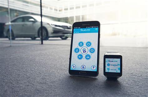 Bluelink Hyundai hyundai announces blue link android wear app for starting