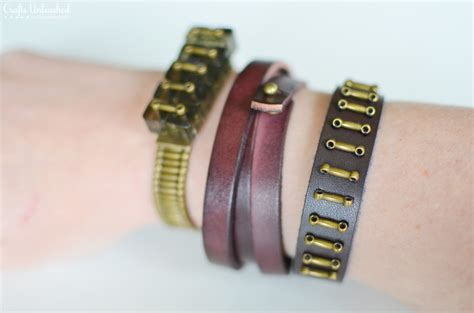 leather for jewelry diy leather bracelets for the jewelry novice