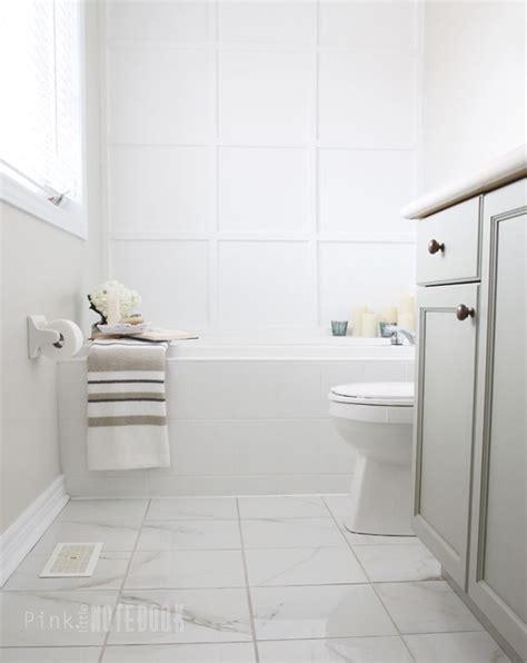 Master Bathroom Floor Plan the final reveal a sophisticated ensuite bathroom pink