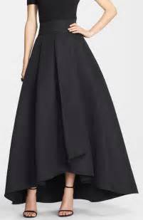 black origami skirt st collection duchesse origami pleat maxi skirt