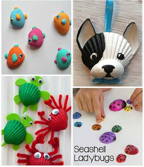 seashell craft ideas for seashell crafts for to make