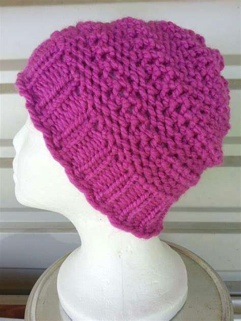 loom knit hat dip stitch loom knit goodknit kisses