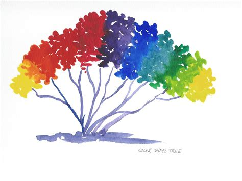 tree color in the color wheel stafford artworks