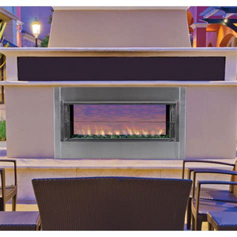 outdoor linear gas fireplace ihp superior vre4543 linear vent free outdoor gas fireplace