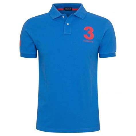 shirts with hackett tailored numbered polo shirt hackett from gibbs