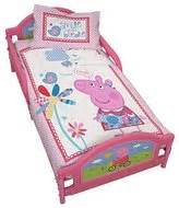george pig toddler bed set george peppa pig shopstyle uk