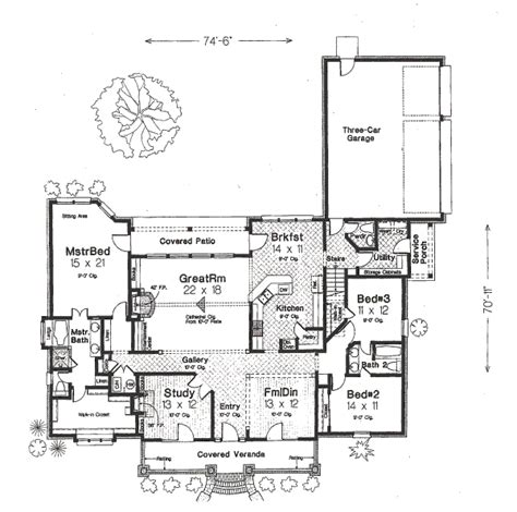 blue print of my house country style house plan 3 beds 2 5 baths 2688 sq ft