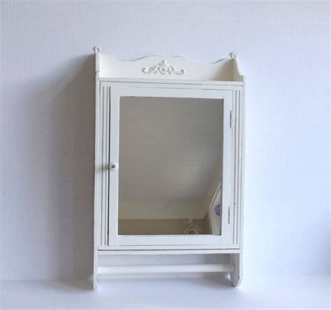 shabby chic bathroom cabinet with mirror shabby chic mirrored bathroom cabinet mf cabinets