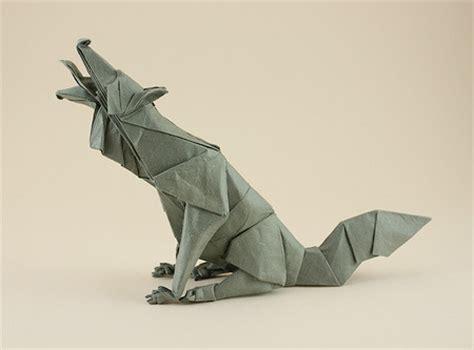origami wolf origami animals