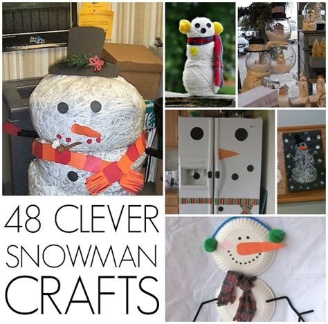 snowman craft projects winter crafts adults