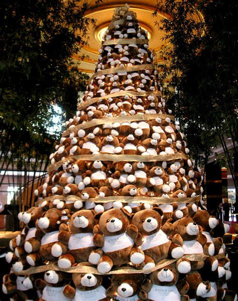 teddy tree tree decorated with teddy bears images