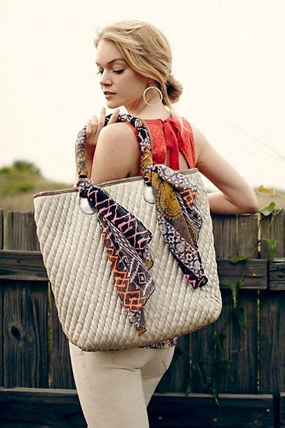 shimmered tote anthropologie com what a clever way